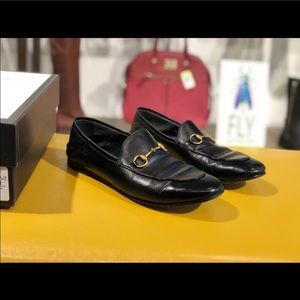 Black Gucci loafers. Size 8 1/2